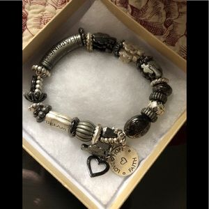 Happiness and dream stretch bracelet